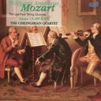 Mozart - The Last Four String Quartets Vol.1
