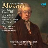 Mozart: String Quintets Nos. 5 & 6