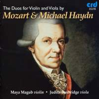 The Duos for Violin and Viola by Mozart & Michael Haydn