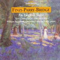Finzi, Bridge & Parry: Works for Strings