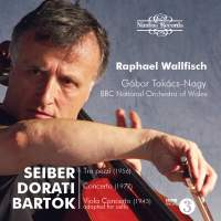 Hungarian Cello Concertos: Raphael Wallfisch