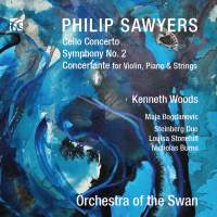 Philip Sawyers: Cello Concerto & Symphony No. 2