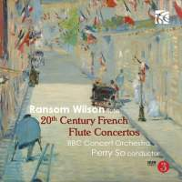 20th Century French Flute Concertos