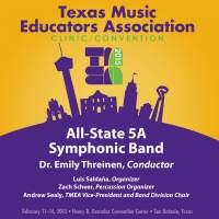 2015 Texas Music Educators Association (TMEA): All-State 5A Symphonic Band [Live]