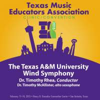 2015 Texas Music Educators Association (TMEA): Texas A&M University Wind Symphony [Live]
