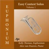 Easy Contest Solos for Euphonium, Vol. 1