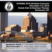 2016 New York State School Music Association (NYSSMA): All-State Symphonic Band & All-State Wind Ensemble (Live)