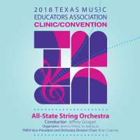 2018 Texas Music Educators Association (TMEA): All-State String Orchestra [Live]
