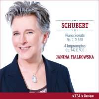 Schubert: Piano Sonata No. 8 & 4 Impromptus, D935