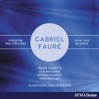 Fauré: Integrale des Melodies pour Voix et Piano