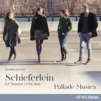 Telemann & C.P.E. Bach: Sonates en trio