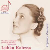 Lubka Kolessa Legacy