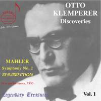 Otto Klemperer Discoveries Vol. 1