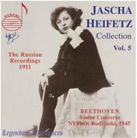 Jascha Heifetz Collection Vol. 5