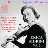 Erica Morini, Volume 3