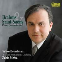 Brahms: Piano Concerto No. 2 & Saint-Saens: Piano Concerto No. 2