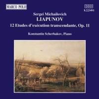Lyapunov: 12 Études d'exécution transcendente, Op. 11 (complete)