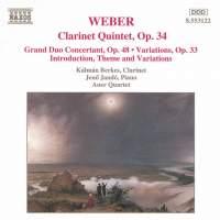 Weber: Clarinet Works