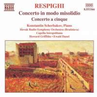 Respighi: Concerto in modo misolidio & Concerto a cinque