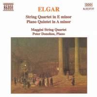 Elgar: String Quartet and Piano Quintet