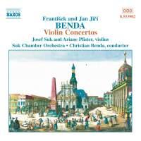 Benda & Benda: Violin Concertos