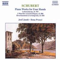Schubert - Piano Works for Four Hands Volume 1