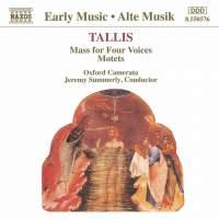 Tallis: Mass for Four Voices & Motets