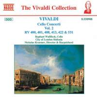 Vivaldi: Cello Concertos, Vol. 2