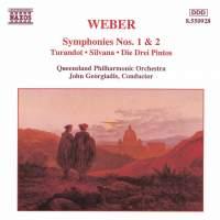 Weber - Symphonies etc