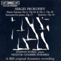 Prokofiev: Piano Sonatas Nos. 3 & 6, Sarcasms & Quintet Op. 39