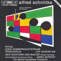 Schnittke: Faust Cantata and other works