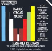 Baltic Organ Music