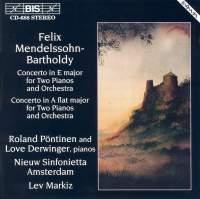Mendelssohn - Concertos for Two Pianos