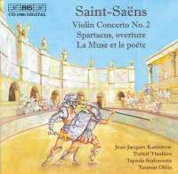 Saint-Saëns: Violin Concerto No. 2 in C Major Op. 58, etc.