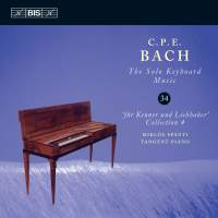 CPE Bach - Solo Keyboard Music Volume 34
