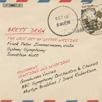 Brett Dean: The Lost Art of Letter Writing