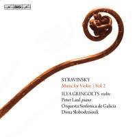 Stravinsky: Music for Violin Volume 2