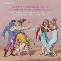 Rossini & Hoffmeister: Quartets with Double Bass, Vol. 2