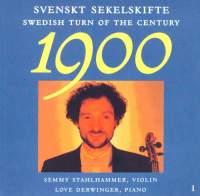Swedish Turn of Century, Vol. 1
