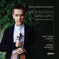 Shostakovich: Impromptu for Viola & Piano, Op. 33