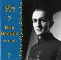 Great Swedish Singers: Erik Saedén