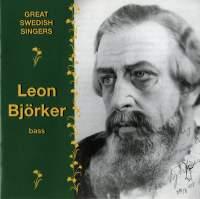 Great Swedish Singers: Leon Björker