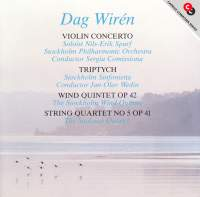 Dag Wiren: Violin Concerto