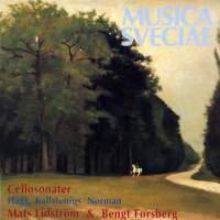 Hägg, Kallstenius, Norman: Cello Sonatas