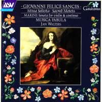 Sances: Missa Solicita & Sacred Motets