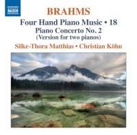 Brahms: Four Hand Piano Music, Volume 18