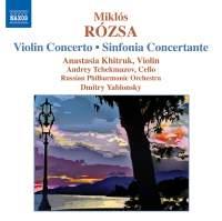 Rosza: Violin Concerto & Sinfonia Concertante