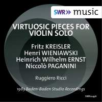 Virtuosic Pieces for Violin Solo
