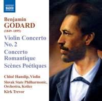 Benjamin Godard - Violin Concertos