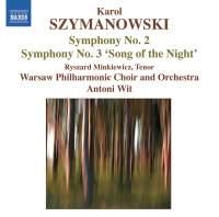 Szymanowski - Symphonies Nos. 2 and 3